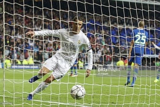 Bàn thắng sớm của Ronaldo đã giúp Real Madrid giải tỏa rất nhiều.