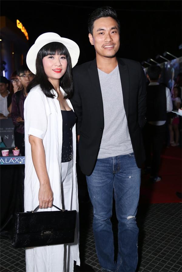 Cát Phượng cùng bạn diễn Kiều Minh Tuấn