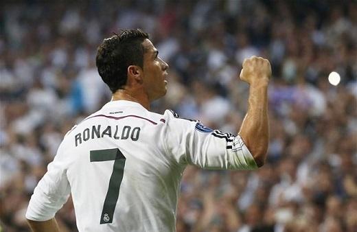 Không cầu thủ nào ghi nhiều hat-trick hơn Ronaldo ở đấu trườngChampions League.Cristiano Ronaldo (5 lần), ngang bằng Lionel Messithành tích này.