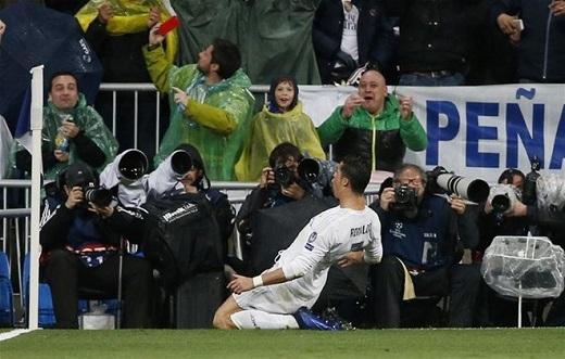 Ronaldo ghi 16 bàn sau 10 trậnra sân tại Champions League 2015-16.