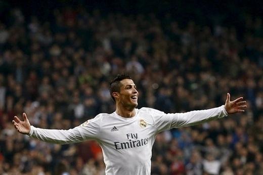Cristiano Ronaldo đặt dấu giày trong20 bàn thắngcủa Real mùa này, nhiều hơn bất cứ cầu thủ nào.