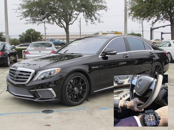 Siêu xe Mercedes S65 trị giá gần 13 tỷ mà Denis Do từng up trên tài khoản Instargram của anh