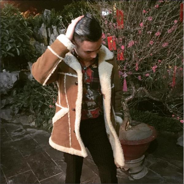 """Áo khoác """"chất lừ"""" hiệu Ralph Lauren do Tom Ford thiết kế"""