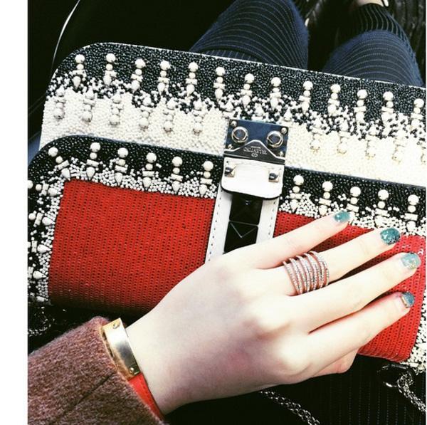 Bố, mẹ, cả 2 anh trai thường xuyên mua những món đồ hàng hiệu đắt tiền cho tiểu thư bé nhất nhà, trong số đó có hàng loạt túi xách Chanel, Dior, giày dép Valentino, đồng hồ Cartier… mà Anh Sa yêu thích, sử dụng nhiều.