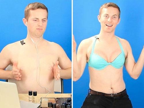 Công dụng của 2 loại áo ngực này là giúp đàn ông béo tạo dáng, ngăn ngực chảy xệ và giảm sức nặng lên tim. Còn đối với đàn ông gầy, áo ngực giúp cơ ngực của họ trông lớn hơn, giúp họ tự tin hơn. (Ảnh: Internet)
