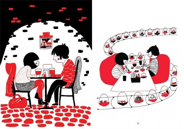Chắc chắn cặp đôi nào cũng có những địa điểm chỉ dành cho đôi mình và chẳng bao giờ họ đến đó cùng một người nào khác. (Ảnh: Philippa Rice)