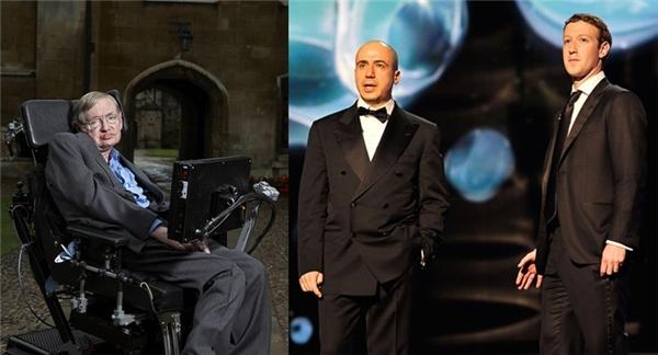 """Dự án này là sự hợp tác của ba """"ông trùm"""": Stephen Hawking, Yuri Milner và Mark Zuckerberg. (Ảnh: Internet)"""