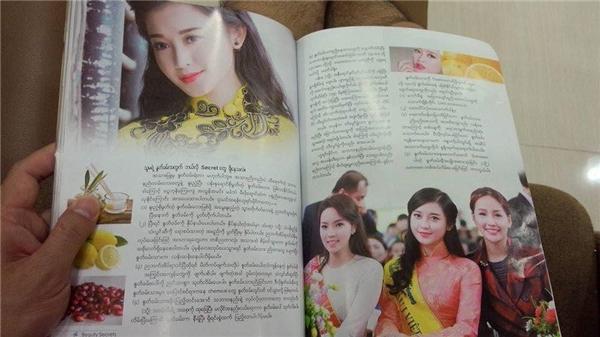 Hình ảnh Hoa hậu Mai Phương Thúy và Hoa hậu Kỳ Duyên cũng được tạp chí này đăng tải. - Tin sao Viet - Tin tuc sao Viet - Scandal sao Viet - Tin tuc cua Sao - Tin cua Sao