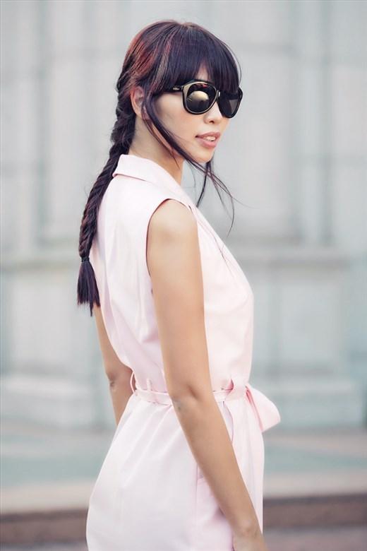Hà Anh thay đổi diện mạo với phong cách tóc cực chất