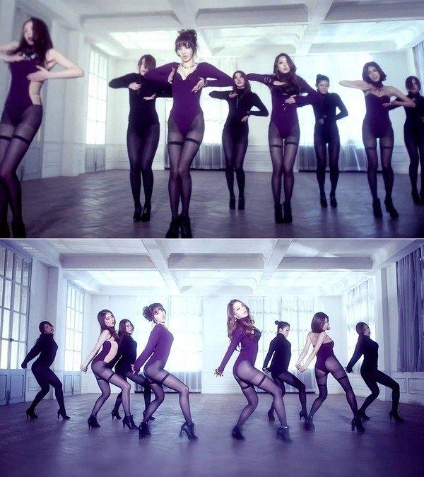 Dàn mỹ nhân Hàn dính phốt mặc quần như không