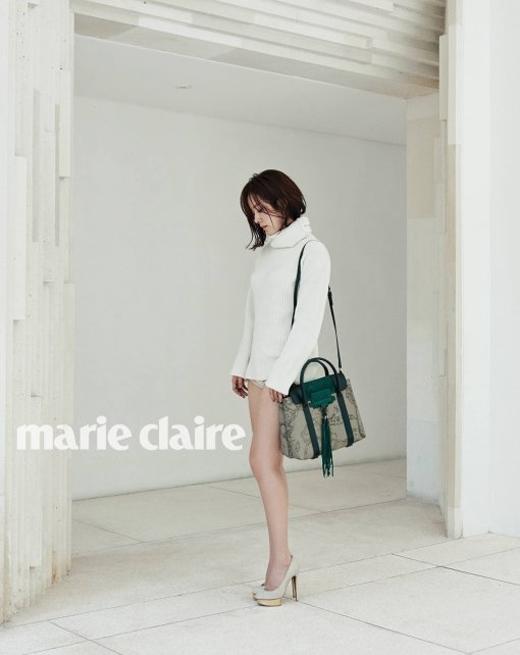 Trang phục của nữ diễn viên Han Ji Min khiến nhiều người hiểu lầm.