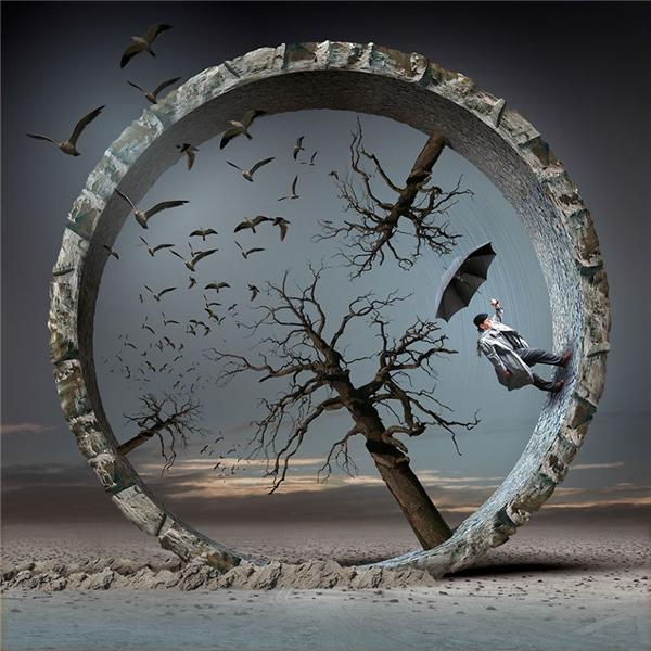 Có những người mà cuộc đời họ chỉ là một vòng tròn vô tận của sự khô héo, úa tàn, của những cơn gió cắt da và mãi mãi sẽ không còn thấy ánh mặt trời hay mùa xuân nữa. (Ảnh: Igor Morski)