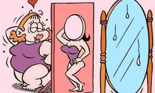 Những cô nàng béo đừng tự ti nha. (Ảnh: Internet)