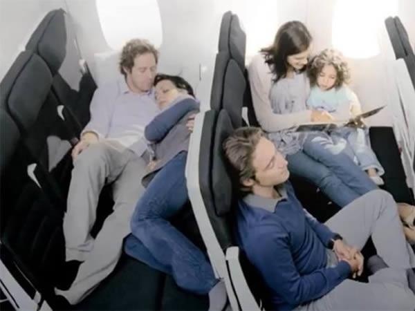Ghế này có thể biến thành giường.(Ảnh: Internet)