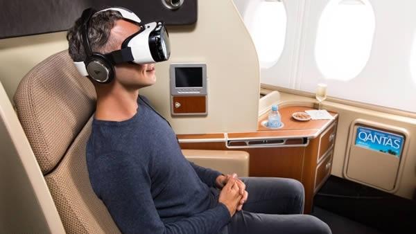 Đây là hãng hàng khôngđầu tiên đem đến trải nghiệm thực tế ảo cho hành khách.(Ảnh: Internet)