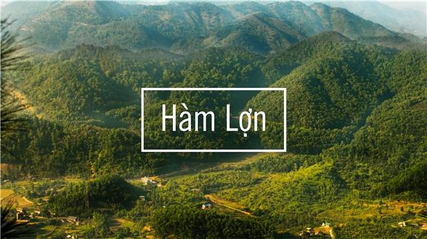 Khung cảnh nên thơ của núiHàm Lợn - Sóc Sơn - Hà Nội.(Ảnh: Internet)
