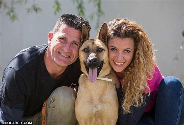 Barilla cùng anh Rodriguez và vợ anh, cô Carolina Lopez Gonzalez (Ảnh: Internet)