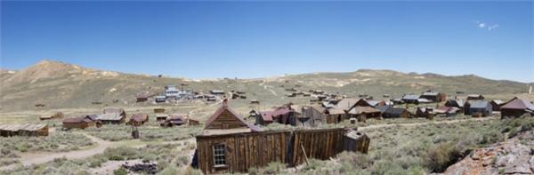 Bodie, California từng là 'điểm nóng' trong thời kì 'cơn sốt vàng' tại Mỹ