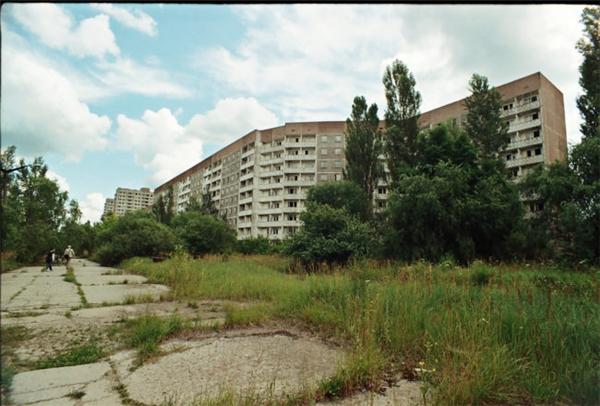 Thành phố Pripyat không một bóng người do nỗi sợ rò rỉ phóng xạ