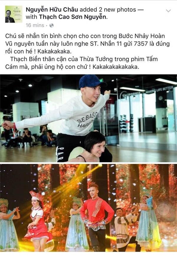 S.T tập nhảy mặc vết thương, sao Việt kêu gọi bình chọn