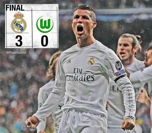 Cristiano Ronaldo đang đạt hiệu suất ghi bàn cao mùa này. (Ảnh: Real Madrid FC)