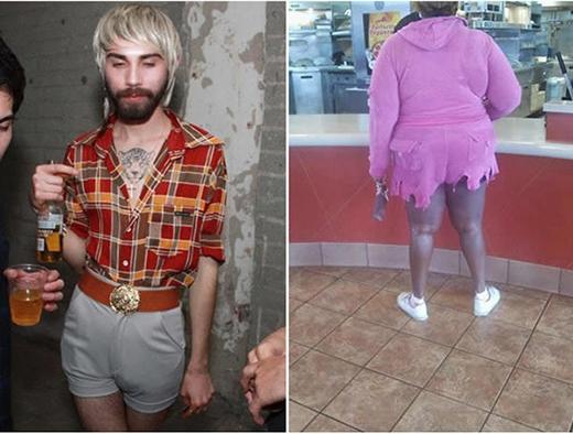 """Tập hợp thời trang dạo phố có 1-0-2 khiến người xem """"toát mồ hôi hột"""""""