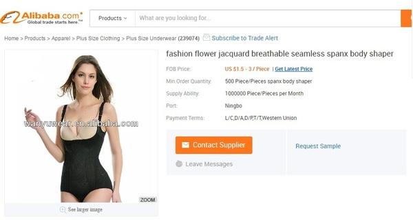 Còn đây là sản phẩm được rao bán trên trang thương mại điện tử alibabavới giá cao hơn, tùy vào chất liệu vải.