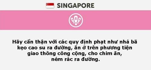 Những điều cần nhớ khi đi du lịch Singapore.
