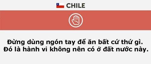 Những điều cần nhớ khi đi du lịch Chile.