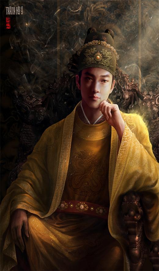 Vua Lê Thái Tông. (Ảnh NVCC)
