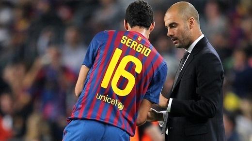 Sergio Busquet sẽ đến sân Etihad mùa hè này?. (Ảnh: Internet)