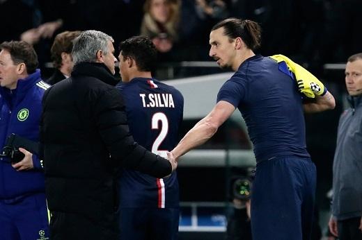 Ibrahimovic đang nóng lòng muốn tái hợp với HLV Jose Mourinho. (Ảnh: Internet)