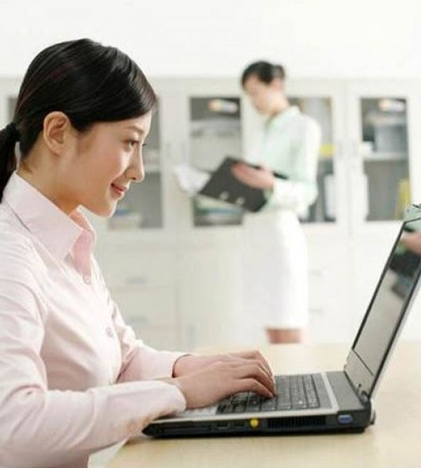 Từ một nhân viên văn phòng cô gái đã trở thành người kinh doanh tự do (ảnh minh họa).