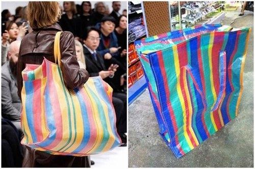 Túi xách Balenciaga bị đem so với túi đựng đồ giá bèo ở chợ Thái Lan, Việt Nam.