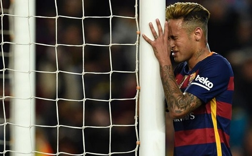 Neymar không còn là chính mình sau kì chuyển nhượng mùa đông. (Ảnh: Internet)
