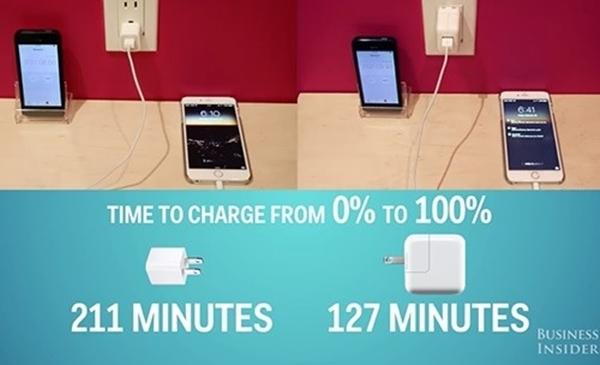 Những tuyệt chiêu giúp sạc iphone nhanh hơn - 4