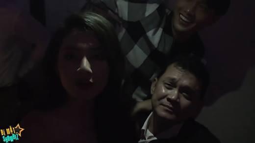 """Ngọc Lan """"dìm hàng"""" nghệ sĩ Hữu Châu trong tiệc cưới Thế Thành - Thúy Diễm"""