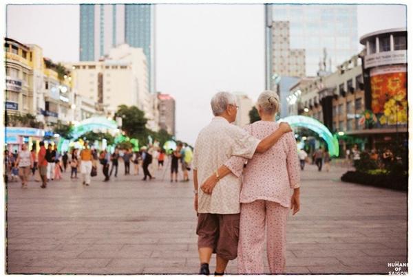 Giữa thành phố to to có niềmhạnh phúc nho nhỏ.(Ảnh: Humans of Saigon)
