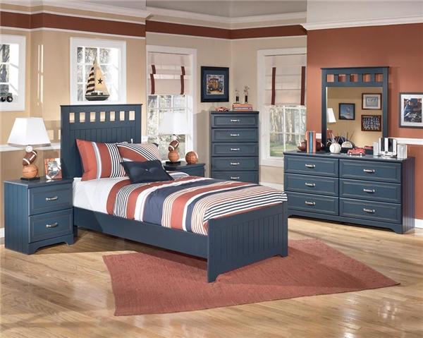 Phong cách của phòng ngủ này gợi lên vẻ đẳng cấp và trí thức, khiến ta có cảm tưởng đây là phòng của một công tử, thiếu gia nào đó. (Ảnh: Internet)