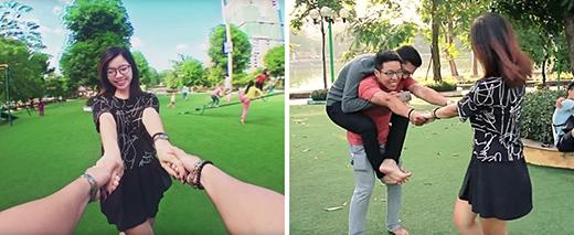 Những tấm ảnh siết chặt tay nhau lãng mạn thế này thực ra làm khổ cho rất nhiều bạn trai. (Ảnh: Hồ Anh Đức)