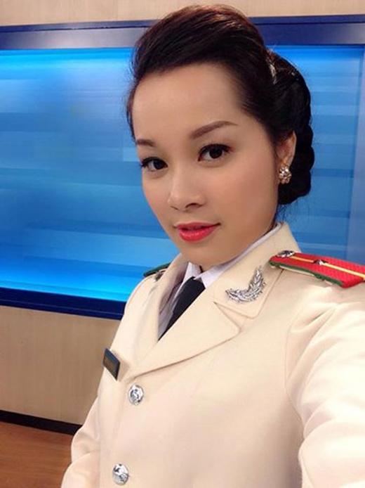 Cô hiện là MC của kênh truyền hình ANTV