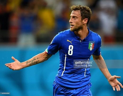 HLV Conte sẽ không có sự phục vụ của Marchisio ở EURO 2016.