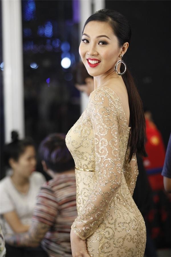 """Trương Diệu Ngọc, thí sinh đang được đánh giá cao tại mùa giải năm nay nhưng vẫn còn khá """"hiền"""" tại nhà chung."""