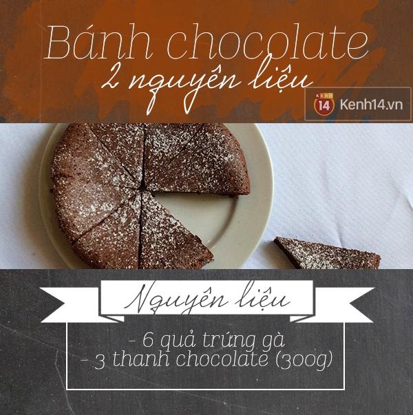 Thách bạn làm được bánh ngọt chỉ với 2 nguyên liệu thôi đấy!