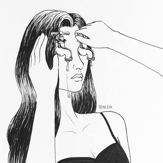 """""""Con gái bản lĩnh không bao giờ được khóc,"""" ai mà không từng an ủi mình như thế, phải không? (Ảnh: Henn Kim)"""