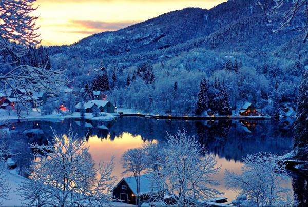 Vẻ đẹp choáng ngợp của 10 quốc gia hạnh phúc nhất thế giới