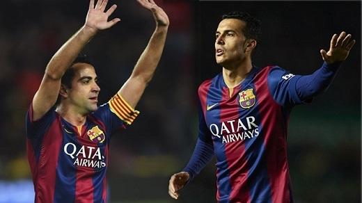 1. Xavi và Pedro quá quan trọng:Trên con đường chinh phục mùa trước, cả Xavi và Pedro đều đóng vai trò thiết yếu. Xavi vào sân khi Barcelona dẫn trước để giữ vững lợi thế bằng cách tái lập lối chơi kiểm soát bóng quen thuộc, còn Pedro cung cấp giải pháp phòng ngự từ xa hoặc tăng quân số hàng tấn công lên 4 người. Khi họ ra đi, Barcelona hoàn toàn thiếu người thay thế.