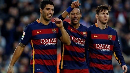 8. Messi, Suarez và Neymar bị quá tải:Giai đoạn đầu mùa giải, tam tấu MSN vẫn thể hiện phong độ hủy diệt. Tuy nhiên kể từ sau lễ trao giải QBV 2015, Neymar đã sa sút nghiêm trọng. Tiếp đó, đến lượt Messi nhiễm virus FIFA.
