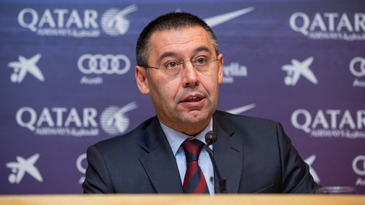 9. Chủ tịch Bartomeu không giỏi xử líkhủng hoảng:Kể từ khi trúng cử, vai trò của Bartomeu rất nhạt nhòa. Ông không thành công trong đàm phán tìm nhà tài trợ mới khiến Barca không thể mua Nolito và vẫn chưa gia hạn được với Neymar. Hè 2015, Barca cũng không tăng cường được số viện binh cần thiết để đối phó với án cấm chuyển nhượng. Vì vậy, Barcelona khó trông cậy vào vị chủ tịch này để giải quyết khủng hoảng.