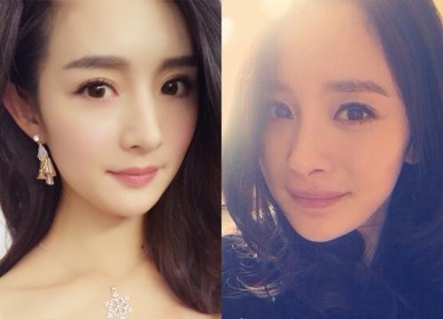 Bạn có phân biệt được đâu là Trần Đan Đình và đâu là Dương Mịch? (Ảnh: Internet)